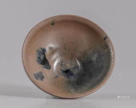 A Chinese Jianyao hare's fur tea bowl