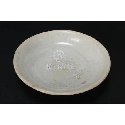 Chinese Song/Yuan Dynasty White Dish,