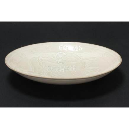 Beautifully Chinese Dingware Dish,