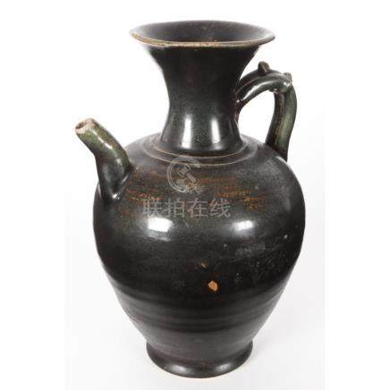 Chinese Late Tang Dynasty 10th Century Black