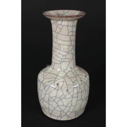 Chinese Ge Ware Mallet Vase,