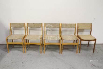 5 modern chairs