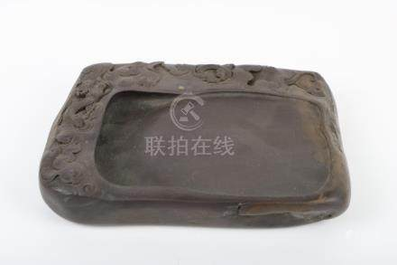Chinse stone engraved inkstone