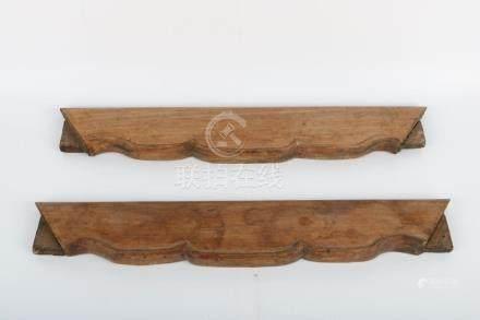 Set of hardwood