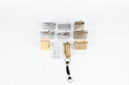 Set of ten lighters