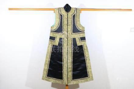 Guangxu women's back waistcoat