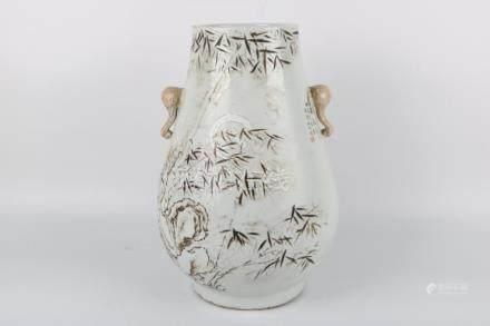 Chinese glaze jar