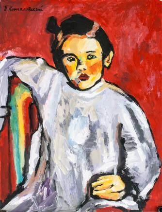 Pyotr Konchalovsky Russian Post-Impressionist Oil