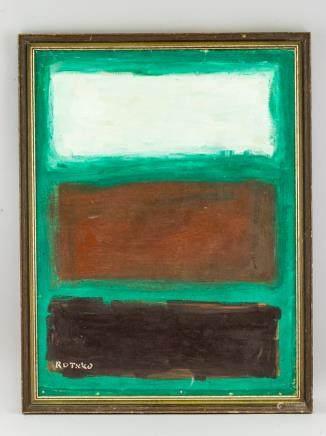 Mark Rothko American Abstract Oil on Canvas