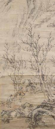 16-18th Century Chinese/Japanese Watercolour Paper