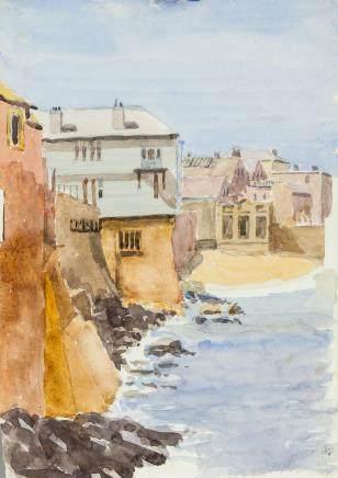 Winifred Nicholson British Impressionist WC Paper