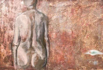 Fausto Pirandello Italian Modernist OOC Nude