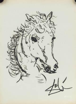 Salvador Dali Spanish Surrealist Ink