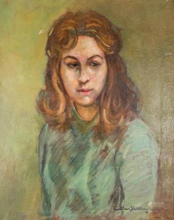 Arthur Shilling 1941-1986 Canadian Oil Portrait