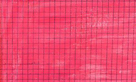 Agnes Martin American-Canadian Abstract OOC