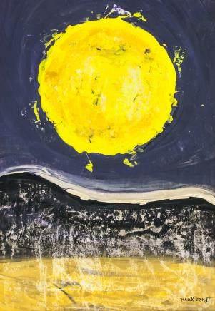Max Ernst German Dadaist Surrealist Oil on Canvas