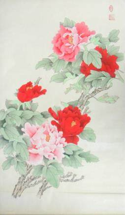 Chang Lu XX Chinese Watercolor on Paper