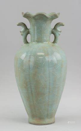 Chinese Song/Yuan Style Porcelain Lotus Vase