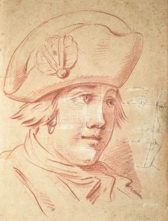 École française du XVIIIe siècle, dans le goût de Jean-Martial FREDOU (1710-179