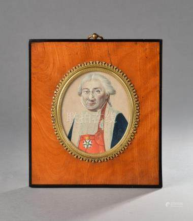 D'après Robert LEFEVRE (1755-1830).Claude Ambroise REGNIER Duc de MASSA (1736-1