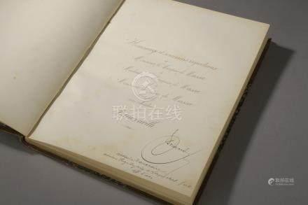 FRANCONVILLE (Val d'Oise). Manuscrit, Notes détachées d'une statistique histori