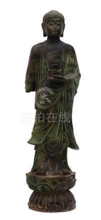 A Standing Buddha Shakyamuni