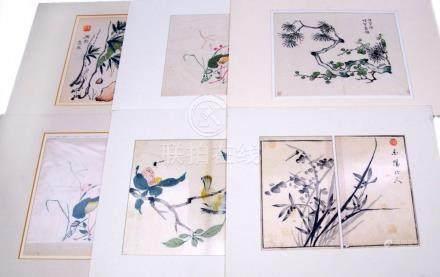 A collection of prints by Hu Zhengyan 胡正言 (1584-1674)