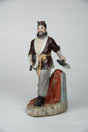 李逵 Porcelain Figure of Li Kui of the Water Margin 高(Height):27cm