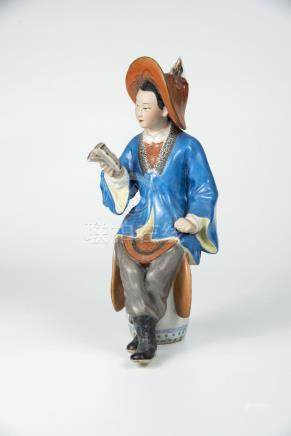 花木兰 Porcelain Figure of Mulin 高(Height):28cm