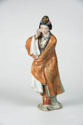 仕女 Porcelain Figure of a Lady 高(Height):27.5cm