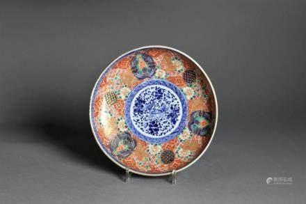 An Imari porcelain bowl