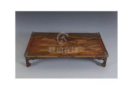 A Japanese writing table, Bundai