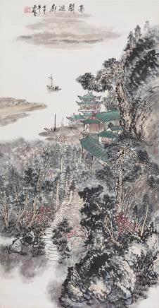 王西林  高閣迴廊