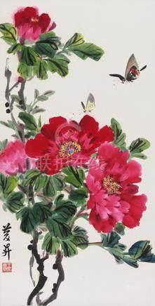 王慶昇  花卉