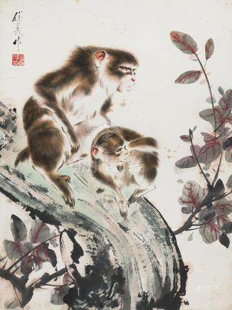 曹俊義  雙猴