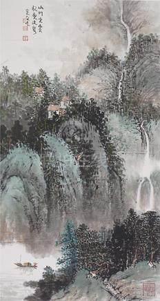 王克文  山川出雲