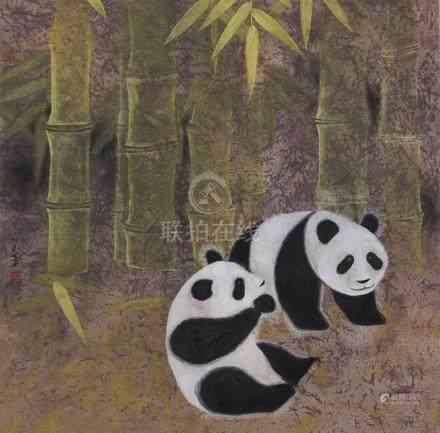 郭義芳  熊貓