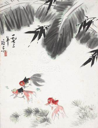 王培東  金魚