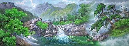朝鮮畫家  風景