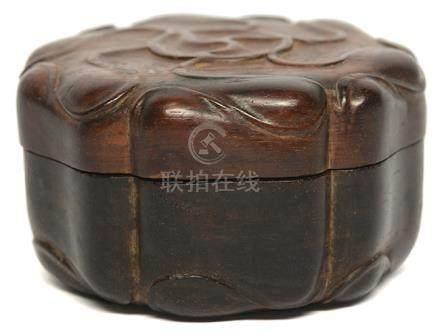 酸枝木花卉盒