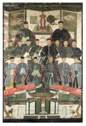 19th century Chinese school