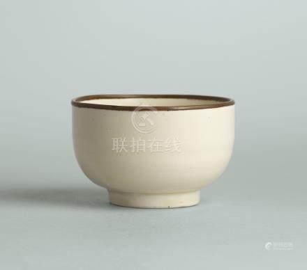 北宋 定窯白釉茶盌