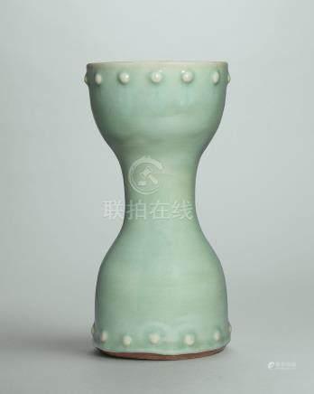 元/ 明 龍泉窯青釉鼓形器