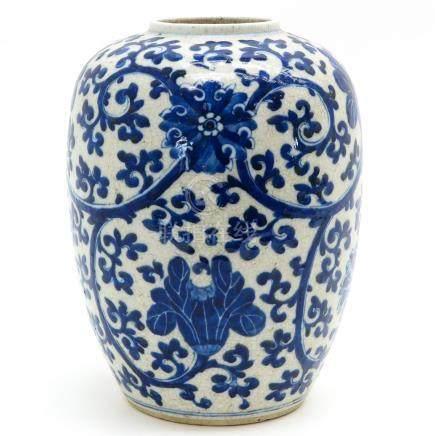 A Blue Decor Vase