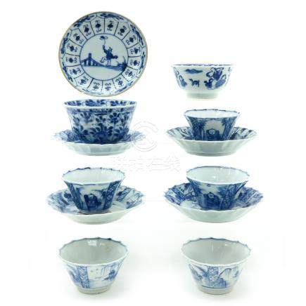 A Collection Cups and Saucers
