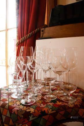 10套超薄玻璃红酒杯