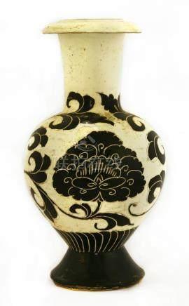 A Chinese Cizhou ware vase