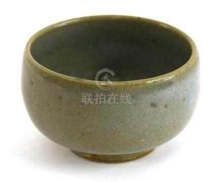 A Chinese Jun ware tea bowl