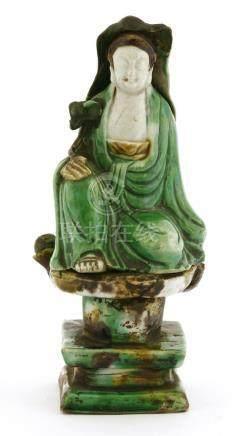 A Chinese sancai Guanyin