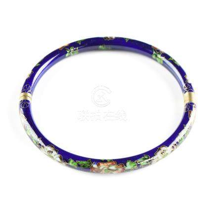 A CHINESE CLOISONNÉ COLLAR NECKLACE, LATE QING DYNASTY (1644-1912)/EARLY CHINESE REPUBLIC (1912-